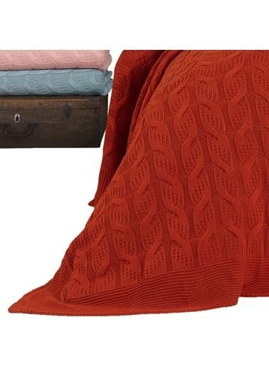 Nazik Home Tek Kişilik Battaniye Kırmızı